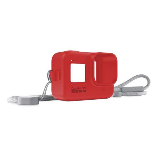 GoPro Sleeve and Lanyard Firecracker Red for HERO8 Black