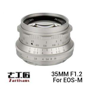 Jual 7Artisans 35mm F1.2 For EOS-M Silver Harga Murah dan Spesifikasi