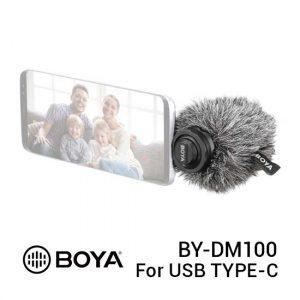 Jual BOYA BY-DM100 USB Type-C Digital Stereo Microphone Harga Murah dan Spesifikasi