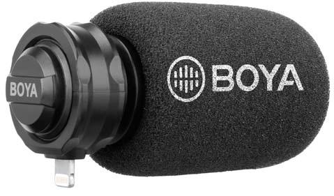 Jual BOYA BY-DM200 Lightning Digital Mono Microphone Harga Murah dan Spesifikasi