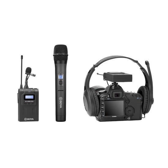 Jual BOYA BY-WHM8 Pro Wireless Handheld Microphone Harga Murah dan Spesifkasi
