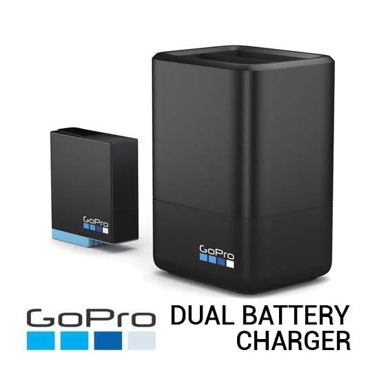 Jual GoPro Dual Battery Charger for GoPro Hero8 Black Harga Murah dan Spesifikasi