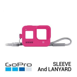 Jual GoPro Sleeve and Lanyard Electric Pink for HERO8 Black Harga Murah dan Spesifikasi