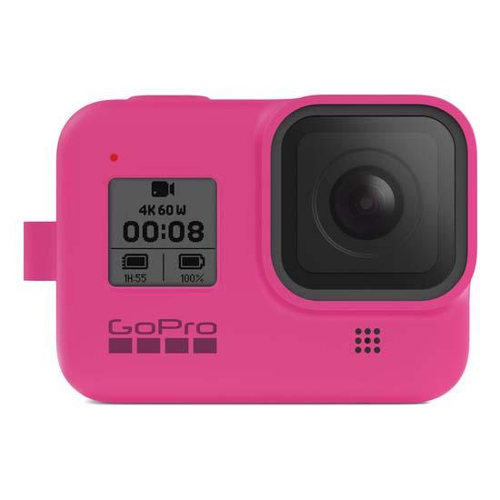 Jual GoPro Sleeve and Lanyard Electric Pink for HERO8 Black Harga Murah dan Spesifikasi