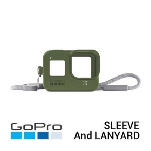 Jual GoPro Sleeve and Lanyard Turtle Green for HERO8 Black Harga Murah dan Spesifikasi