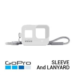 Jual GoPro Sleeve and Lanyard White Hot for HERO8 Black Harga Murah dan Spesifikasi