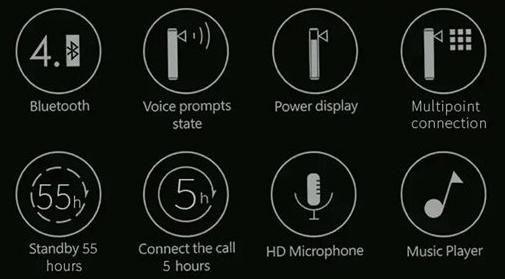 Jual Remax Headset Bluetooth HD Voice T8 Harga Murah dan Spesifikasi