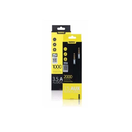 Jual Remax RL-L200 Cable Audio 3.5 AUX 2M Harga Murah dan Spesifikasi