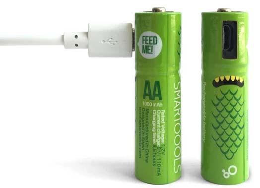 Jual Smartoools Rechargeable Battery AA Micro USB Harga Terbaik dan Spesifikasi
