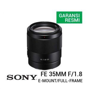 Jual Sony FE 35mm f1.8 Harga Terbaik dan Spesifikasi