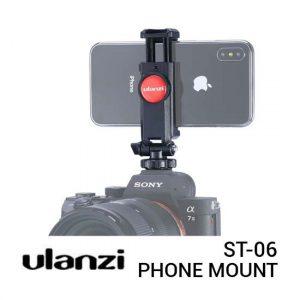 Jual Ulanzi ST-06 Phone Tripod Mount with Cold Shoe Harga Murah dan Spesifikasi