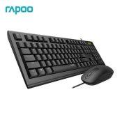 Rapoo Keyboard Combo X120PRO Black Plazakamera