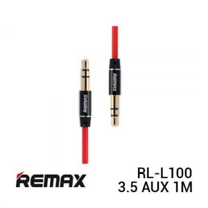 Remax RL-L100 Cable Audio 3.5 AUX 1M Red