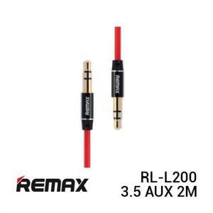 Remax RL-L200 Cable Audio 3.5 AUX 2M Red