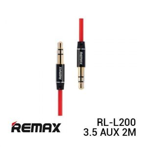 Remax RL-L200 Cable Audio 3.5 AUX 2M Red