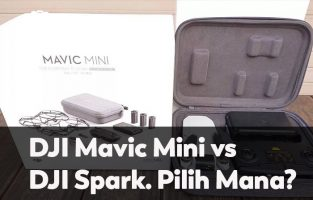 DJI Mavic Mini vs DJI Spark. Pilih Mana?