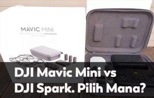 DJI Mavic Mini vs DJI Spark. Pilih Mana?