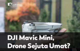 Review DJI Mavic Mini, Drone Termurah, Terkecil, Teringan dari DJI