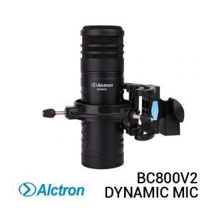 Jual Alctron BC800V2 Professional Dynamic Broadcasting Mic Harga Murah Terbaik dan Spesifikasi