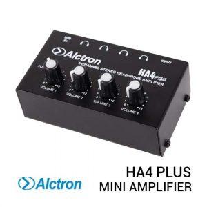 Jual Alctron HA4 Plus Mini Headphone Amplifier Harga Murah Terbaik dan Spesifikasi