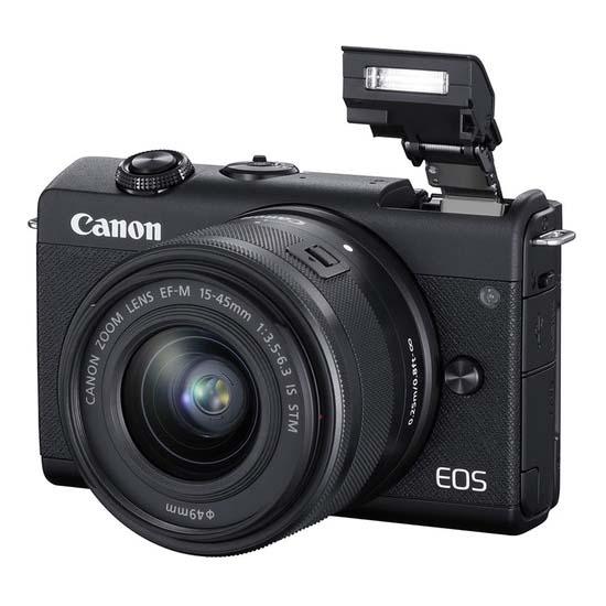 Jual Canon EOS M200 Kit EF-M 15-45mm IS STM Black Harga Terbaik dan Spesifikasi