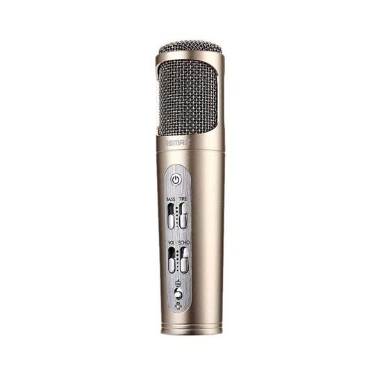 Jual Remax K02 Microphone Gold Harga Murah Terbaik dan Spesifikasi