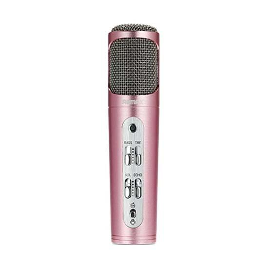 Jual Remax K02 Microphone Pink Harga Murah Terbaik dan Spesifikasi