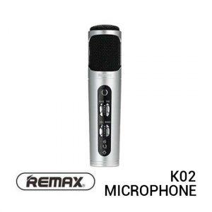 Jual Remax K02 Microphone Silver Harga Murah Terbaik dan Spesifikasi