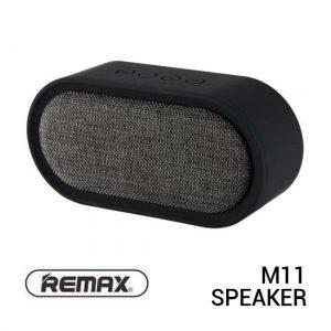 Jual Remax M11-BK Speaker Bluetooth Fabric Black Harga Murah Terbaik dan Spesifikasi