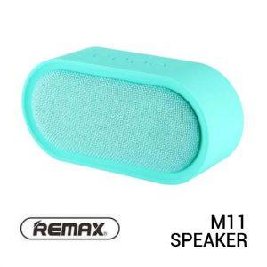 Jual Remax M11-BL Speaker Bluetooth Fabric Blue Harga Murah Terbaik dan Spesifikasi