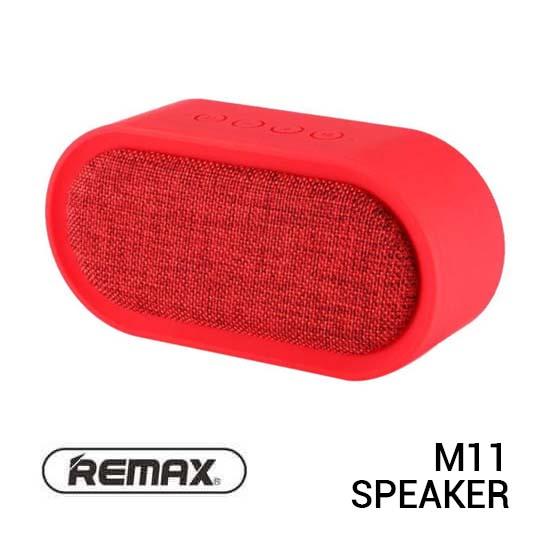 Jual Remax M11-RE Speaker Bluetooth Fabric Red Harga Murah Terbaik dan Spesifikasi