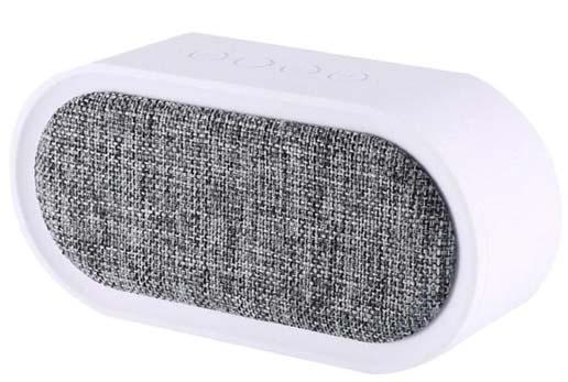 Jual Remax M11-WH Speaker Bluetooth Fabric White Harga Murah Terbaik dan Spesifikasi
