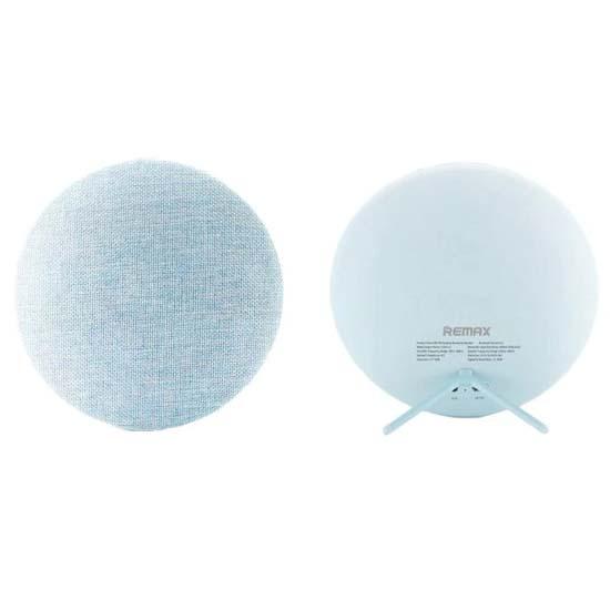 Jual Remax RB-M9 Speaker Bluetooth Fabric Blue Harga Murah Terbaik dan Spesifikasi