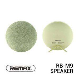Jual Remax RB-M9 Speaker Bluetooth Fabric Green Harga Murah Terbaik dan Spesifikasi