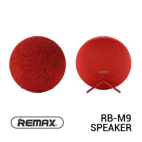 Jual Remax RB-M9 Speaker Bluetooth Fabric Red Harga Murah Terbaik dan Spesifikasi