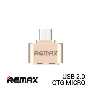 REMAX OTG Micro USB 2.0 - Gold