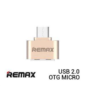 REMAX OTG Micro USB 2.0 - Gold
