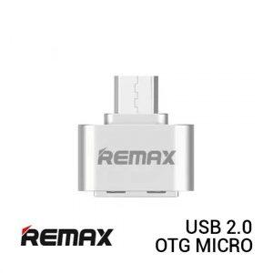 REMAX OTG Micro USB 2.0 - Silver