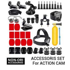 Jual Action Cam Accessories Set Harga Murah Terbaik dan Spesifikasi