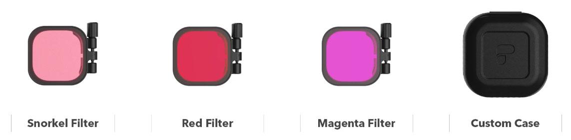 Jual PolarPro DiveMaster 3-Pack Filter Kit for GoPro HERO8 Black Harga Murah Terbaik dan Spesifikasi