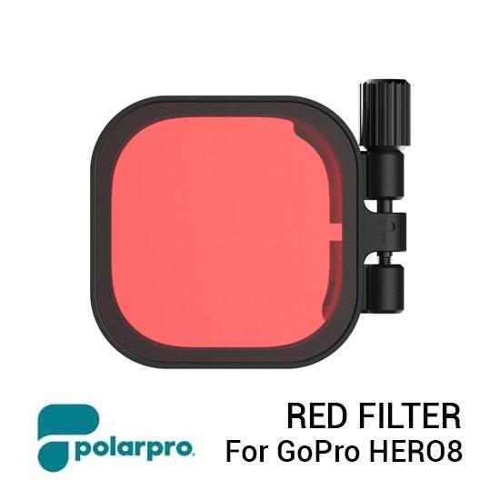 Jual PolarPro Red Filter for HERO8 Black Harga Murah Terbaik dan Spesifikasi