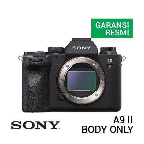 Jual Sony A9 II Body Only Harga Terbaik dan Spesifikasi