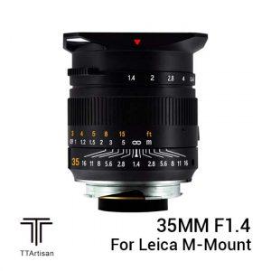 Jual TTArtisans 35mm f1.4 for Leica M-Mount Black Harga Terbaik dan Spesifikasi