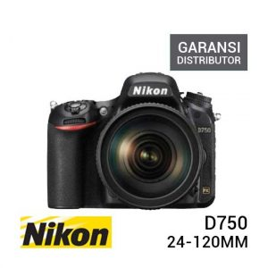 Nikon D750 Kit 24-120mm Garansi Distributor