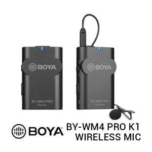 Jual Boya BY-WM4 Pro K1 Wireless Microphone Harga Murah Terbaik dan Spesifikasi