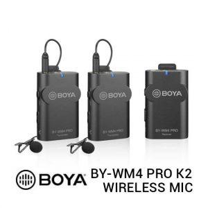 Jual Boya BY-WM4 Pro K2 Wireless Microphone Harga Terbaik dan Spesifikasi
