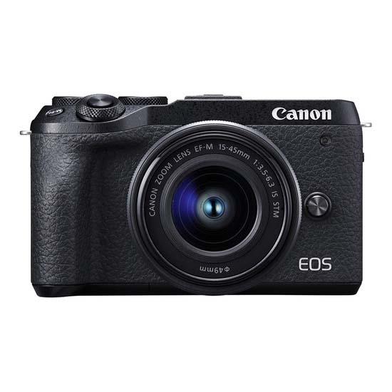 Jual Canon EOS M6 II Kit EF-M 15-45mm f3.5-6.3 IS STM Black Harga Terbaik dan Spesifikasi