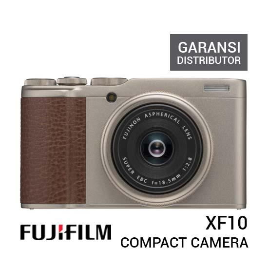 Jual Fujifilm XF10 Champagne Gold Harga Murah Terbaik dan Spesifikasi