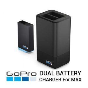 Jual GoPro Dual Battery Charger with Battery for GoPro MAX Harga Murah Terbaik dan Spesifikasi