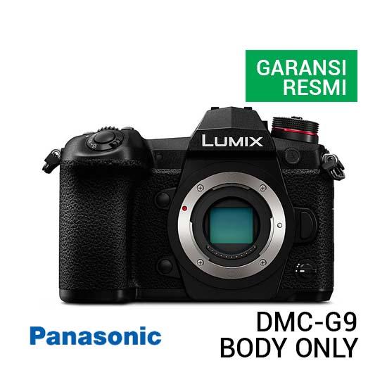 Jual Panasonic Lumix DMC-G9 Body Only Harga Terbaik dan Spesifkasi